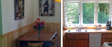 kitchen - McKenzie River Vacation Home & Cabin Rental